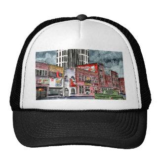 nashville tennessee country music capital art trucker hat