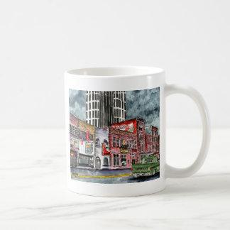 nashville tennessee country music capital art mug
