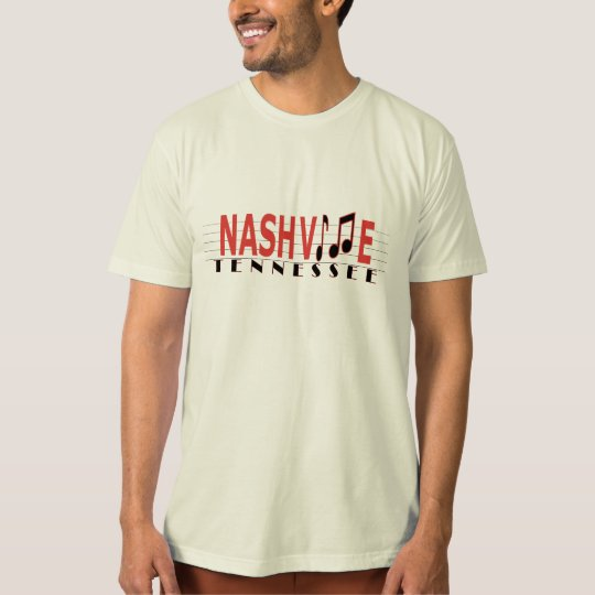 Nashville Tennessee Live the Music T-Shirt