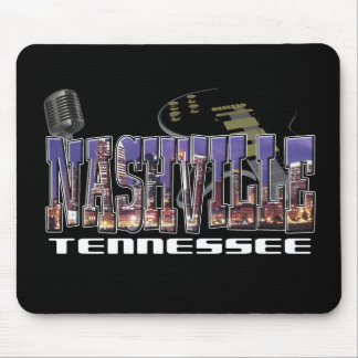 Nashville Tennessee Mouse Pad