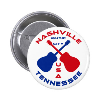 Nashville, Tennessee Music City USA Pins