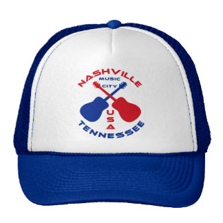 Nashville, Tennessee Music City USA Cap