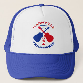 Nashville, Tennessee Music City USA Trucker Hat