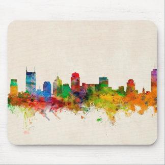 Nashville Tennessee Skyline Cityscape Mouse Mat