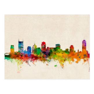 Nashville Tennessee Skyline Cityscape Postcard