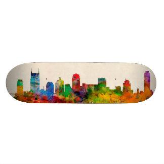 Nashville Tennessee Skyline Cityscape Skate Board Deck