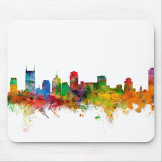 Nashville Tennessee Skyline Mouse Mat