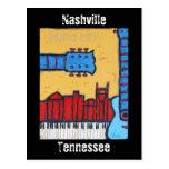 Nashville, Tennessee skyline postcard