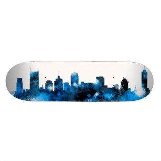 Nashville Tennessee Skyline Skate Board