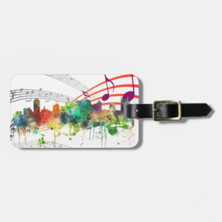 NASHVILLE, TENNESSEE SKYLINE SP  - LUGGAGE TAG