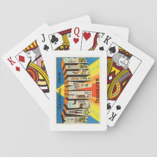 Nashville Tennessee TN Old Vintage Travel Souvenir Playing Cards