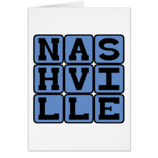 Nashville, Tennessee United States Cards