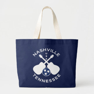 Nashville, Tennessee USA Large Tote Bag