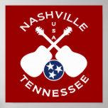 Nashville, Tennessee USA Print