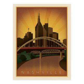 Nashville, TN - Legacy Bridges Postcard