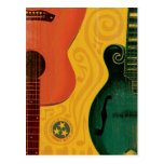 Nashville, TN - Mandolin Guitar Postcard
