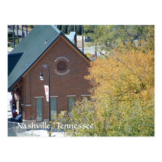 Nashville Train Station at Riverfront Postcard
