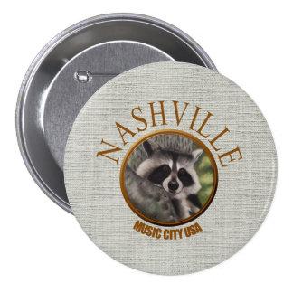 Nashville Wildlife 3 Inch Round Button