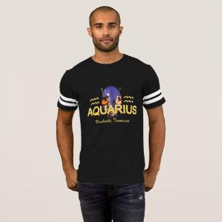 Nashville Zodiac Aquarius Men's Football T-Shirt