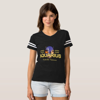 Nashville Zodiac Aquarius Women's Football T-Shirt