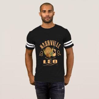 Nashville Zodiac Leo Men's Football T-Shirt