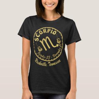 Nashville Zodiac Scorpio Women's Dark T-Shirt