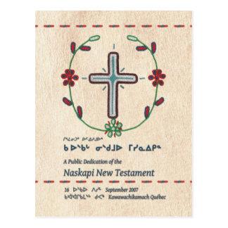 Naskapi Dedication Bookmark/Postcard Postcard