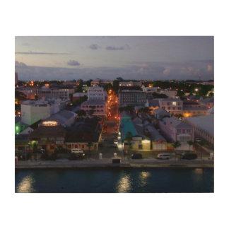 Nassau Awakes Wood Print