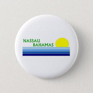 Nassau, Bahamas 6 Cm Round Badge