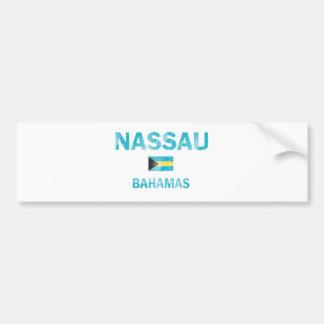 Nassau Bahamas Designs Car Bumper Sticker