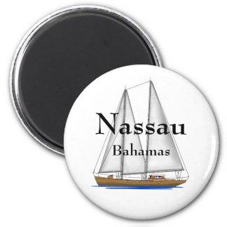 Nassau Bahamas 6 Cm Round Magnet