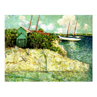 Nassau, Bahamas, painting by J. Alden Weir Postcard