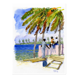 Nassau Beach postcard