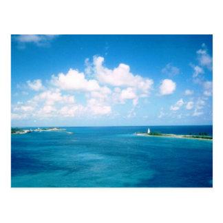 Nassau Habor Postcard