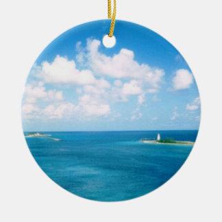 Nassau Harbor Dated Ornament