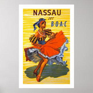 Nassau Jet Poster