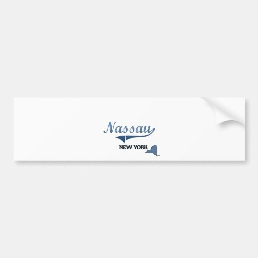 Nassau New York City Classic Bumper Stickers