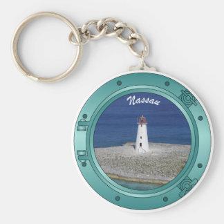 Nassau Porthole Key Ring