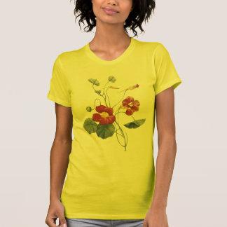nasturtium(Tropaeolum majus) by Redouté T-Shirt