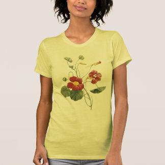 nasturtium(Tropaeolum majus) by Redouté Tee Shirt