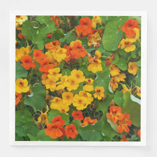 Nasturtiums Napkins Disposable Napkin