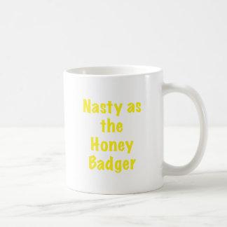 Nasty as the Honey Badger Coffee Mug