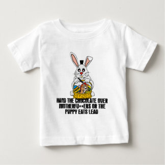 Nasty Easter bunny Baby T-Shirt