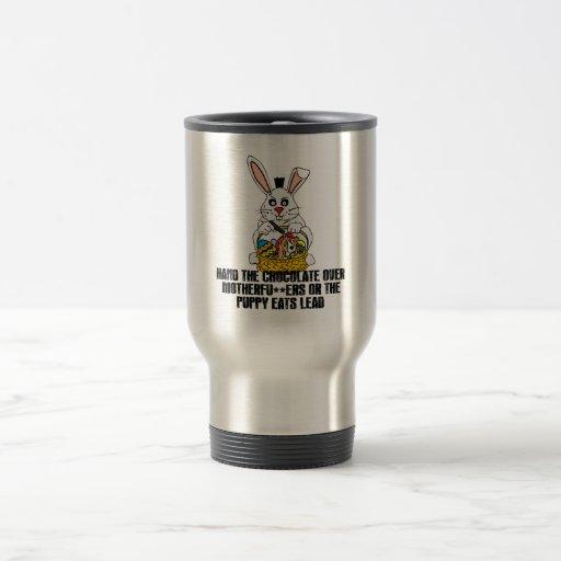 Nasty Easter bunny Mug
