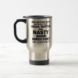 Nasty Handbell Director Coffee Mugs