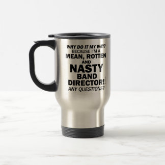 Nasty Handbell Director Stainless Steel Travel Mug