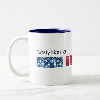Nasty Nanna Two-Tone Coffee Mug