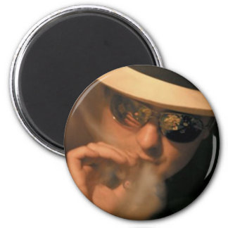 Nasty Nick 6 Cm Round Magnet