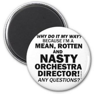 Nasty Orchestra Director Magnet
