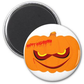 Nasty Pumpkin 6 Cm Round Magnet